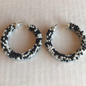Nine West Jewelry - Nine West Brand New large hoop earrings.